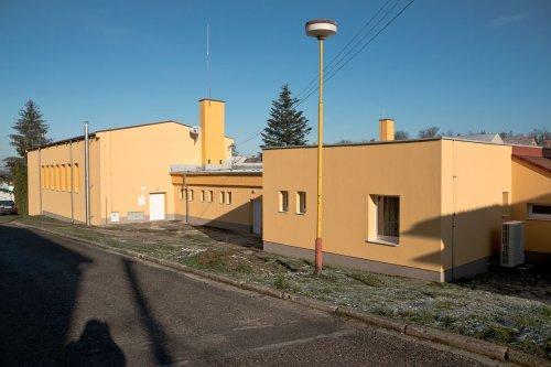Kulturního dům a městský úřad Nová Lhota